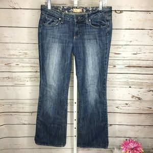 Paige Womens Hollywood Hills Boot Cut Jeans Size 2